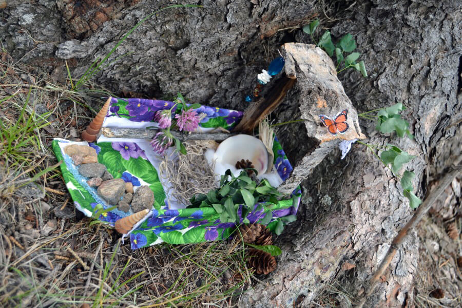 Making Fairy Houses- Rediscovered Families