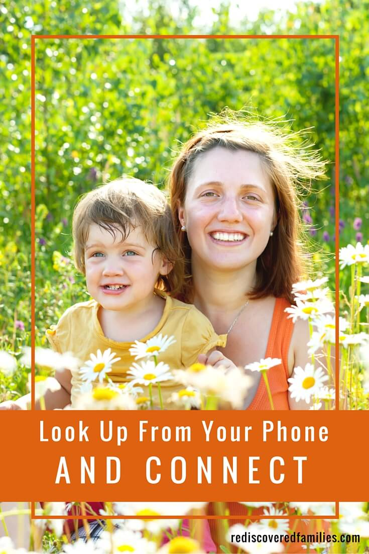 Human beings need to form strong relationships. Your children desperately need to connect with you and you with them. Want to build these deep connections with your family? Put down your phone and try one of these activities instead.