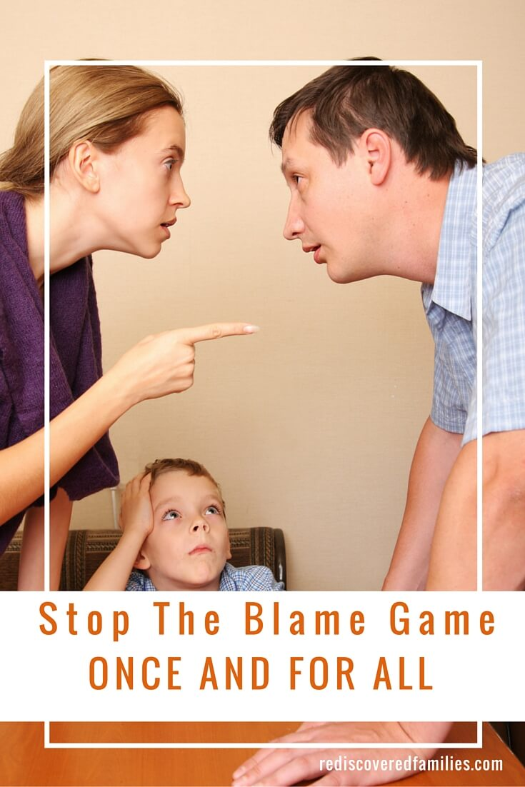 When it comes to playing the blame game there are no winners. Here's a helpful communication technique that can stop blaming in its tracks.