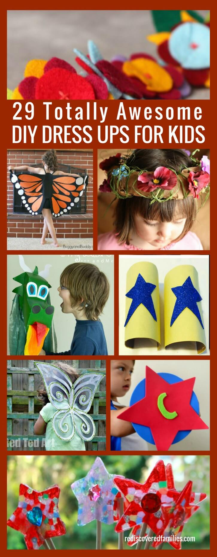 29 Totally Awesome DIY Dressups For Kids
