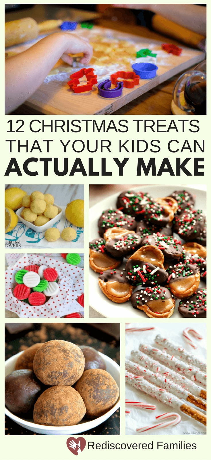12 Easy Christmas Treats Your Kids Can Actually Make